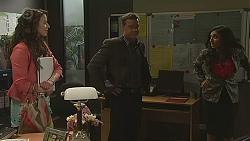 Kate Ramsay, Paul Robinson, Priya Kapoor in Neighbours Episode 6516