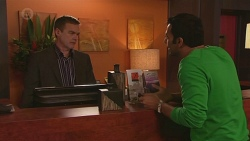 Paul Robinson, Ajay Kapoor in Neighbours Episode 6517