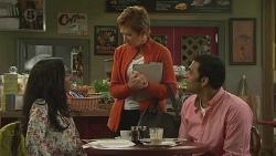 Priya Kapoor, Susan Kennedy, Ajay Kapoor in Neighbours Episode 6517