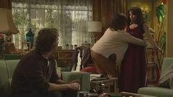 Lucas Fitzgerald, Francesca Villante, Vanessa Villante in Neighbours Episode 6517