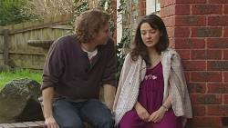 Lucas Fitzgerald, Vanessa Villante in Neighbours Episode 6517