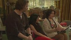 Lucas Fitzgerald, Vanessa Villante, Francesca Villante in Neighbours Episode 6518