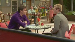 Rhys Lawson, Andrew Robinson in Neighbours Episode 6518