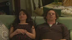 Vanessa Villante, Lucas Fitzgerald in Neighbours Episode 6518