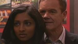 Priya Kapoor, Paul Robinson in Neighbours Episode 6518