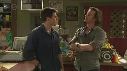 Chris Pappas, Lucas Fitzgerald in Neighbours Episode 6519