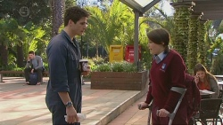 Chris Pappas, Sophie Ramsay in Neighbours Episode 6519