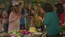 Sonya Mitchell, Georgia Brooks, Francesca Villante, Vanessa Villante in Neighbours Episode 6522