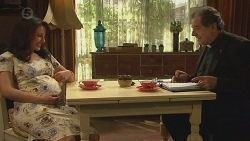 Vanessa Villante, Father Vincent Guidotti in Neighbours Episode 6523