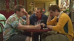 Callum Rebecchi, Toadie Rebecchi, Kyle Canning in Neighbours Episode 6523