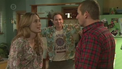 Sonya Mitchell, Callum Jones, Toadie Rebecchi in Neighbours Episode 6523