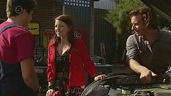 Chris Pappas, Summer Hoyland, Lucas Fitzgerald in Neighbours Episode 6524