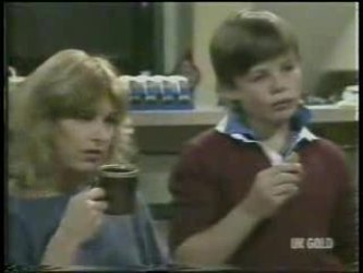 Andrea Townsend, Bradley Townsend in Neighbours Episode 0212