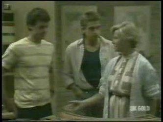 Paul Robinson, Shane Ramsay, Helen Daniels in Neighbours Episode 0213