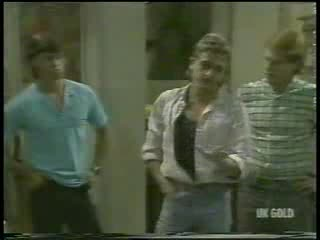Mike Young, Shane Ramsay, Clive Gibbons in Neighbours Episode 0214
