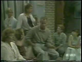 Madge Bishop, Helen Daniels, Shane Ramsay, Jim Robinson, Clive Gibbons, Nikki Dennison in Neighbours Episode 0214