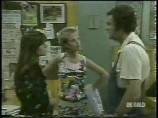 Zoe Davis, Daphne Clarke, Max Ramsay in Neighbours Episode 0214