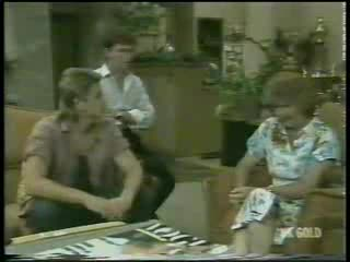 Shane Ramsay, Danny Ramsay, Madge Bishop in Neighbours Episode 0214
