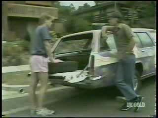Clive Gibbons, Mike Young in Neighbours Episode 0215