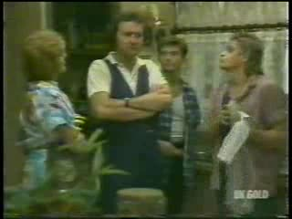 Madge Bishop, Max Ramsay, Danny Ramsay, Shane Ramsay in Neighbours Episode 0215