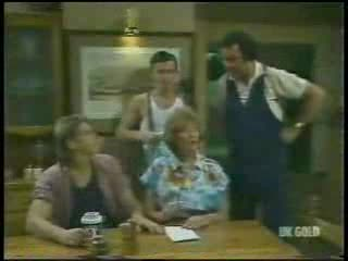 Shane Ramsay, Danny Ramsay, Madge Bishop, Max Ramsay in Neighbours Episode 0215