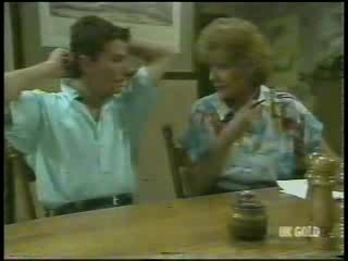 Danny Ramsay, Madge Bishop in Neighbours Episode 0215