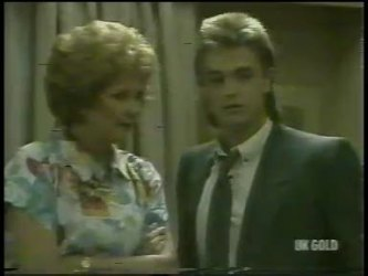 Madge Bishop, Shane Ramsay in Neighbours Episode 0216