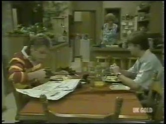 Shane Ramsay, Madge Bishop, Danny Ramsay in Neighbours Episode 0216