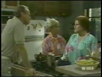 Jim Robinson, Helen Daniels, Laura Dennison in Neighbours Episode 0216