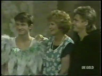 Danny Ramsay, Madge Bishop, Shane Ramsay in Neighbours Episode 0216