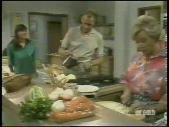 Zoe Davis, Jim Robinson, Helen Daniels in Neighbours Episode 0217