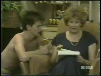 Danny Ramsay, Madge Bishop in Neighbours Episode 0217