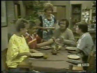 Daphne Clarke, Shane Ramsay, Madge Bishop, Max Ramsay, Danny Ramsay in Neighbours Episode 0217