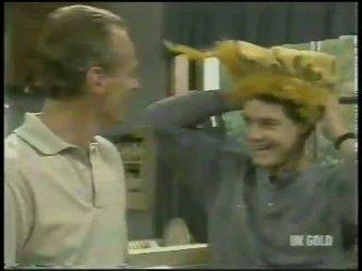 Jim Robinson, Paul Robinson in Neighbours Episode 0217