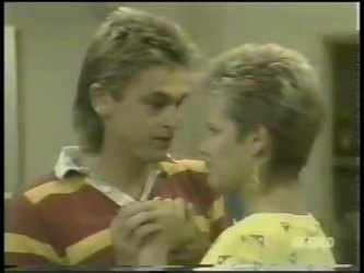 Shane Ramsay, Daphne Lawrence in Neighbours Episode 0218