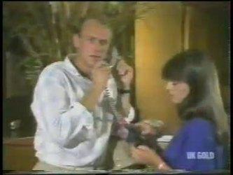 Jim Robinson, Zoe Davis in Neighbours Episode 0222