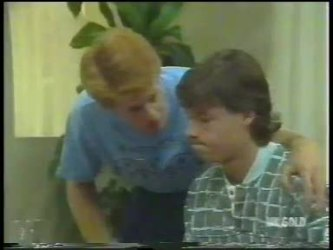 Clive Gibbons, Mike Young in Neighbours Episode 0223