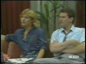 Andrea Townsend, Des Clarke in Neighbours Episode 0224
