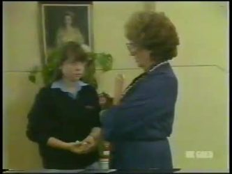 Nikki Dennison, Miss Davidson in Neighbours Episode 0224