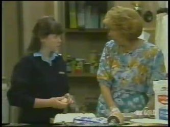 Nikki Dennison, Madge Bishop in Neighbours Episode 0225