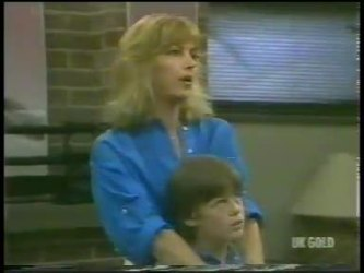 Andrea Townsend, Bradley Townsend in Neighbours Episode 0226
