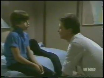 Bradley Townsend, Des Clarke in Neighbours Episode 0226