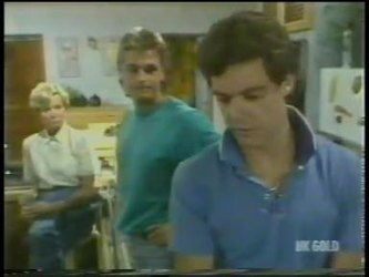 Helen Daniels, Shane Ramsay, Paul Robinson in Neighbours Episode 0228