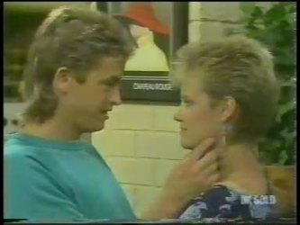 Shane Ramsay, Daphne Clarke in Neighbours Episode 0228