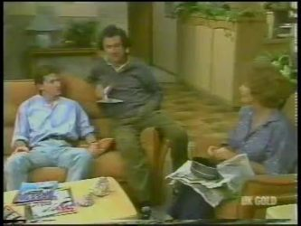 Danny Ramsay, Max Ramsay, Madge Bishop in Neighbours Episode 0228