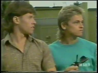 Mike Young, Shane Ramsay in Neighbours Episode 0228