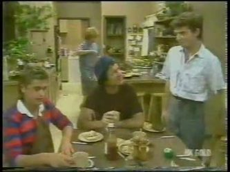 Shane Ramsay, Madge Bishop, Max Ramsay, Danny Ramsay in Neighbours Episode 0229