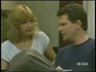 Andrea Townsend, Des Clarke in Neighbours Episode 0229