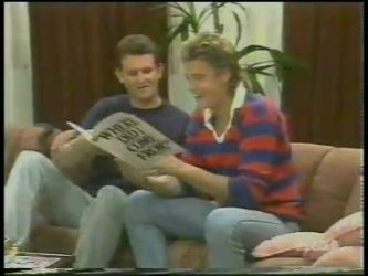 Des Clarke, Shane Ramsay in Neighbours Episode 0229
