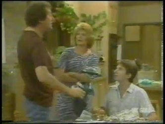Max Ramsay, Madge Bishop, Danny Ramsay in Neighbours Episode 0229